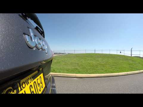 Drive by Boeing Everett Factory / Paine Field in 4K by GoPro HERO4 Part 4