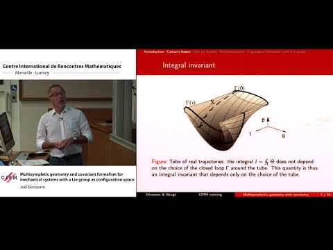 Joël Bensoam : Multisympletic geometry and covariant formalism for mechanical systems with a Lie ...