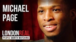 "Michael ""VENOM"" Page - Hands Down - PART 1/2 | London Real"