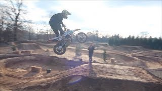 THE PERFECT PITBIKE TRACK!! HUGE TRANSFER..