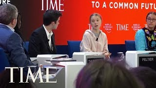 Greta Thunberg Joins Youth Activists On TIME Panel At Davos | TIME