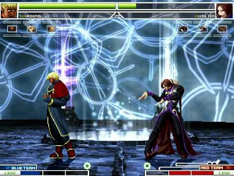 KOF MUGEN Psyqhical Team Vs Goenitz Team