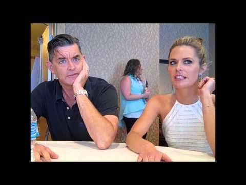 PSYCH Interview with Maggie Lawson & Timothy Omundson - Comic Con 2013
