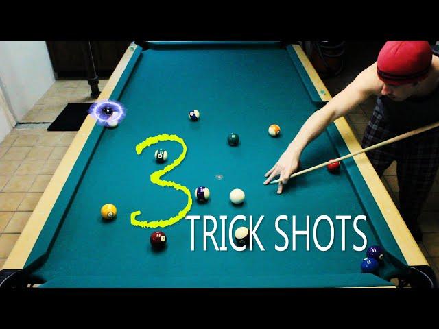 3 Pool Trick Shots: Volume 2