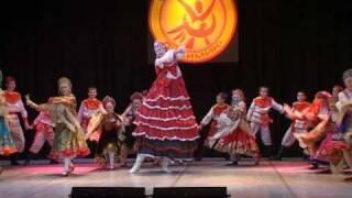 В танце русская душа. Russian folk dance potpourri
