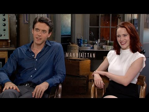 'Manhattan': Rachel Brosnahan and Ashley Zuckerman Talk Season 2