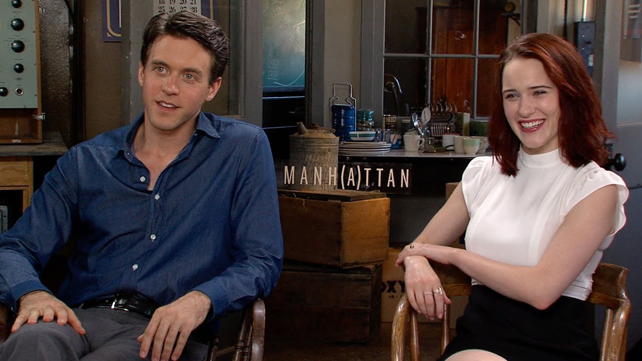 Download 'Manhattan': Rachel Brosnahan and Ashley Zuckerman Talk Season 2