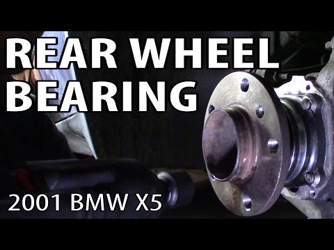 How to Change a Rear Wheel Bearing on an E53 BMW X5