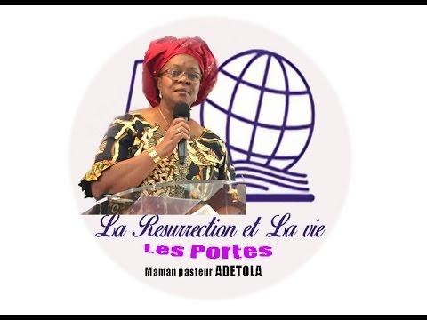 prédication: les portes avec maman ADETOLA de la cote d'ivoire