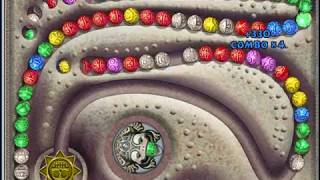 Zuma Deluxe level 11-7 score 30020 points
