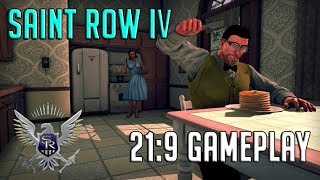 Saints Row IV ULTRA WIDE 21:9 -1070TI GAMEPLAY