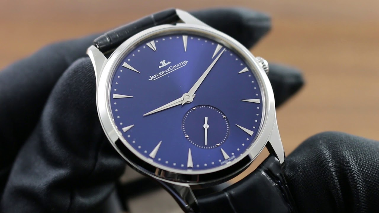 Jaeger-LeCoultre Master Ultra Thin Small Second 1358480 Showcase Review f1e81d0bb4