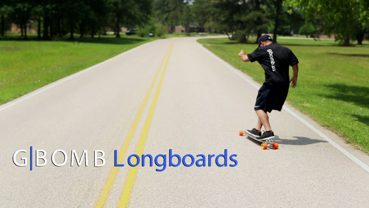 longboard pumping