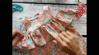 видео обзор детского платья№ 3