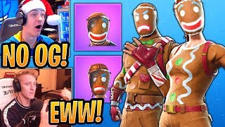 TFUE & Streamers React to *RARE* Merry Marauder and Ginger Gunner Skins BACK in the Shop! - Fortnite