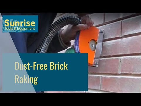 Dust Free Brick Raking Youtube