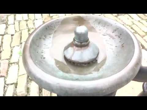 Vintage Murdock Inc. drinking fountain - Phipps Garden Center - Shadyside, Pittsburgh, PA