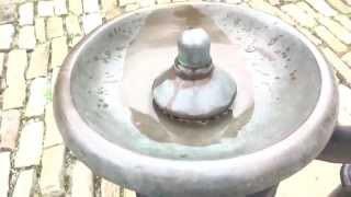 Vintage Murdock Inc. drinking fountain - Phipps Garden Center - Shadyside, Pittsburgh, PA