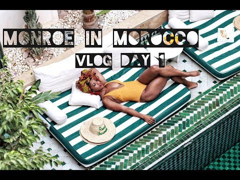 Monroe in Morocco Vlog Day 1