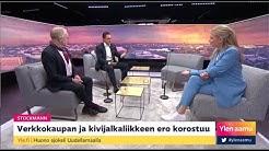 """Miten Stockmann pelastetaan? """"Nyt on pakko myydä kovalla alennuksella"""", Ylen aamu, 15.5.2020"""