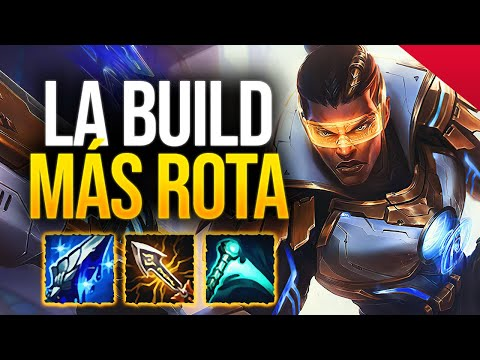 LUCIAN está BROKEN 🔥 ¡LA BUILD MÁS ROTA y su RERROL! 🔄 | League of Legends