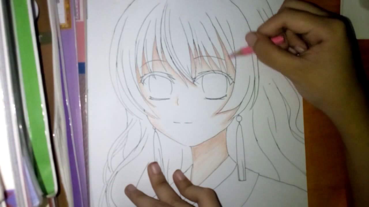 How to Draw : Yona ( Akatsuki no Yona )-Part 2/Hướng dẫn Vẽ : Yona ( Yona  của Bình minh )-phần 2