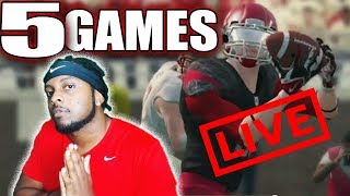 Finishing Rutgers Season 4 LIVE! 5 GAME MARATHON STREAM - NCAA FOOTBALL 14