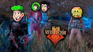 TheDonato, BoomSniper, Jeanki y Hectorino EN EL MODO REVOLUCION DE FREE FIRE *gracioso*