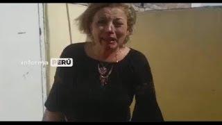 venezolana golpea salvajemente a señora que le alquilaba habitación/VENEZOLANOS EN PERU