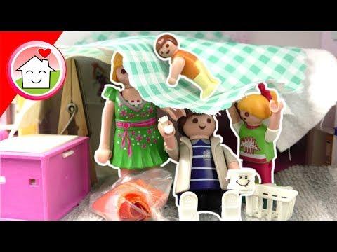 Playmobil Film deutsch - Familie Hauser entrümpelt das Wohnhaus - Spielzeug Kinderfilm
