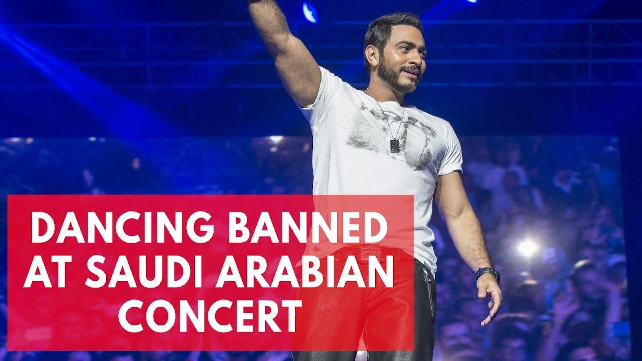 No dancing allowed at Saudi Arabian pop concert
