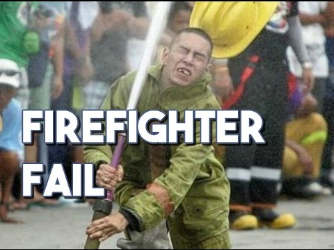 Firefighter FAIL Compilation || FUNNY VIDEOS || EPIC FAILS