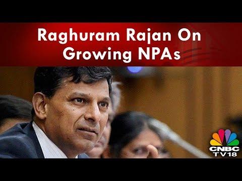 Raghuram Rajan Suggests Remedies For NPAs To Estimates Committee | CNBC TV18