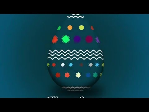 Photoshop Tutorial | How to design an Easter Egg