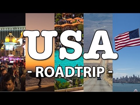USA ROADTRIP 2016: San Francisco, Las Vegas, Los Angeles, Death Valley and more!