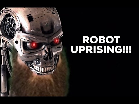 THE ROBOT UPRISING!!!