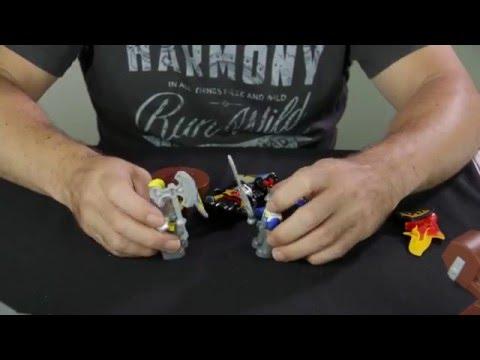 ASMR - Building LEGO Duplo: Knights' Castle