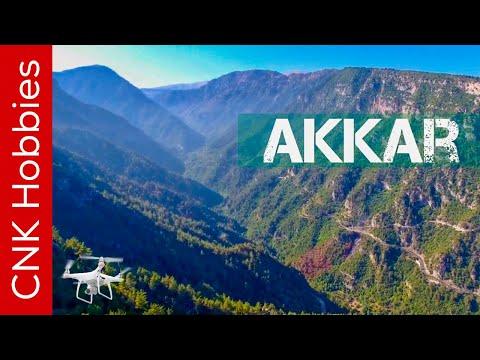 Akkar, Fnaydek, Kamoua, Bayno, Chadra, A North Lebanon Trip 4K Aerial++ video footage