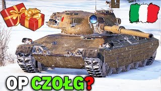 WŁOSKIE CZOŁGI BĘDĄ OP? - Losowanie na 250 Czołgów Premium - World of Tanks