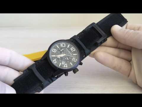 f630742806c Como instalar pulseira de velcro no relógio. Hospital dos Relógios
