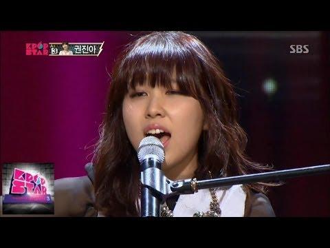 """권진아 Kwon Jin Ah, """"씨스루"""" 완벽한 무대 @K팝스타 시즌3 140302"""