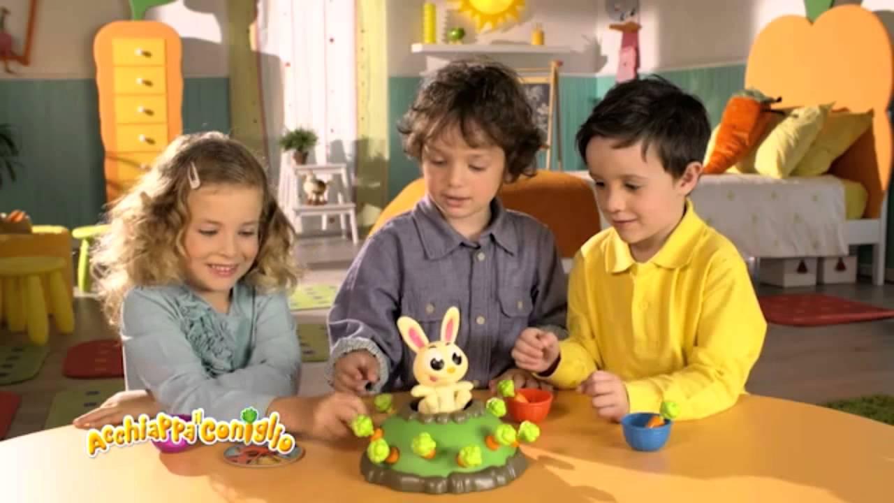 Acchiappa il coniglio youtube for Acchiappa il coniglio