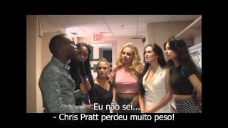 TWERKING with FIFTH HARMONY The Full Interview! (legendado PT-BR)