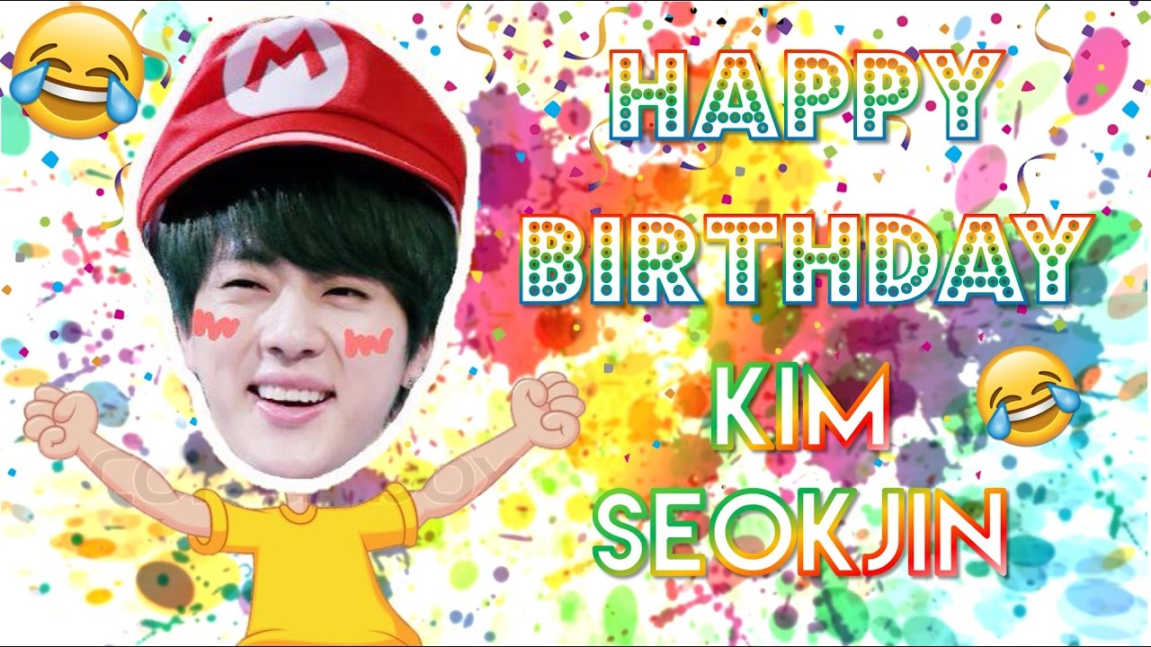 Happy Birthday Kim Seokjin Youtube