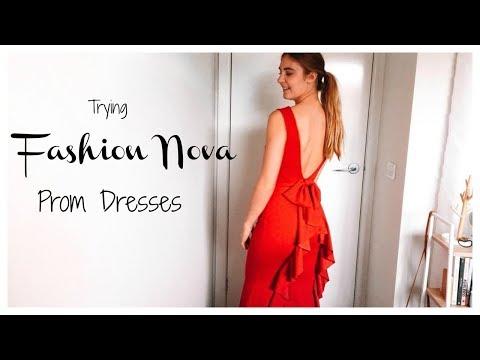 Trying Fashion Nova Prom Dresses Under $50!