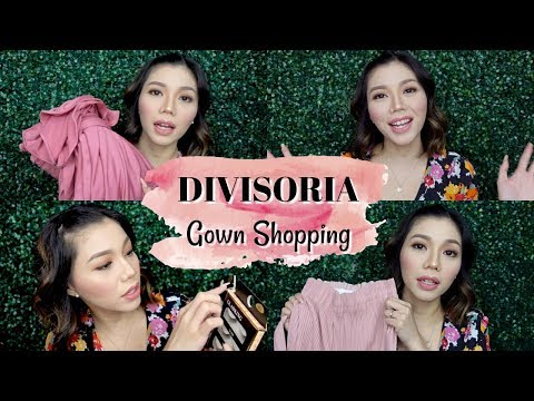 DIVISORIA HAUL | Murang gown, damit at  false lashes! | Peevee Dela Rosa