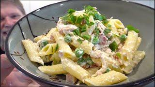 Creamy Chicken and Bacon Pasta Recipe