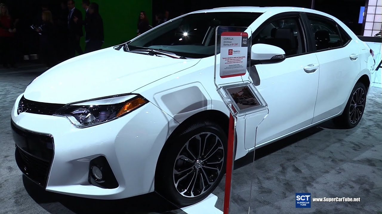 Lastest 2016 Toyota Corolla S  Exterior And Interior Walkaround  2015 LA