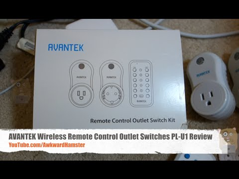 Avantek Wireless Remote Control Outlet Switches Pl U1 Review Youtube