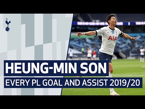 HEUNG MIN SON | EVERY PREMIER LEAGUE GOAL AND ASSIST 2019/20